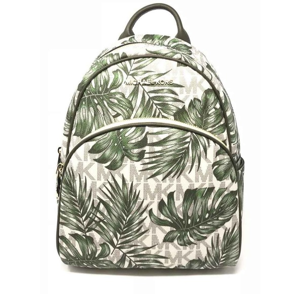45eafa6db614 Michael Kors Bags | Abbey Medium Backpack Mk Printed | Poshmark